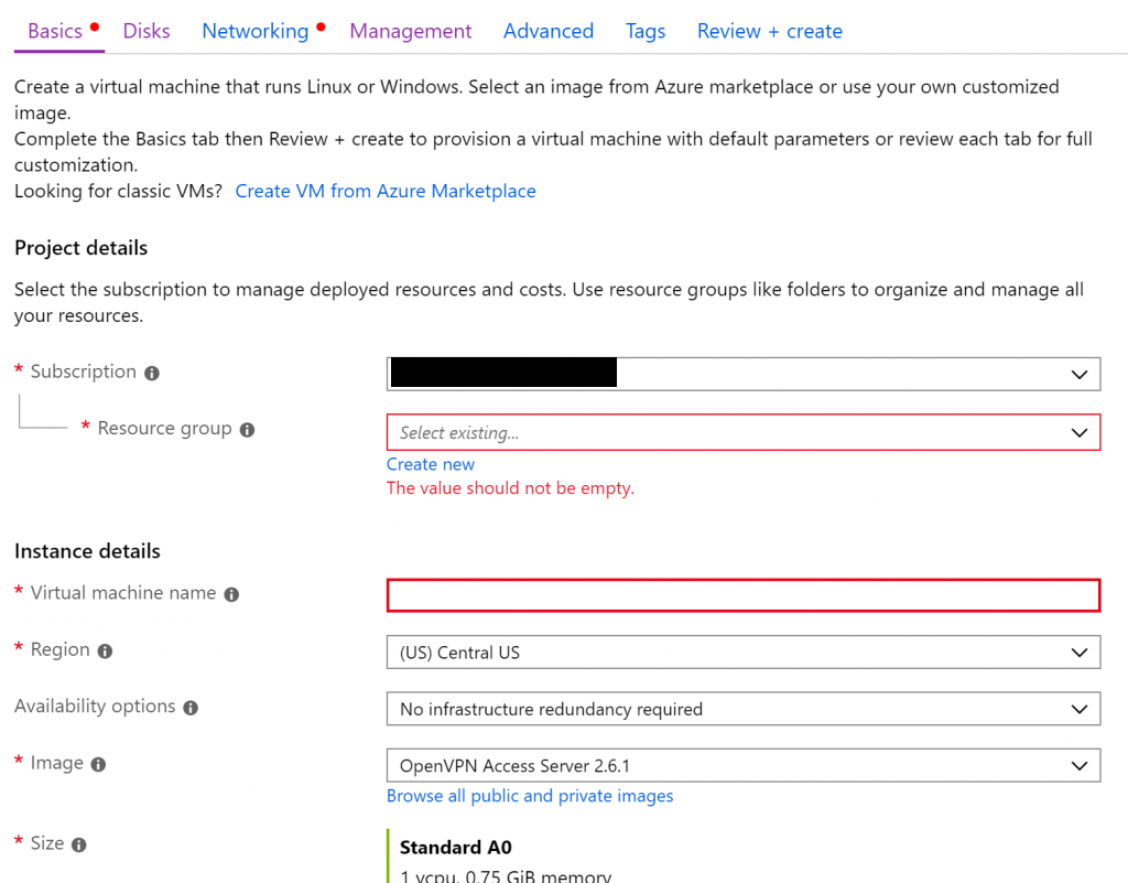 Setting up your own VPN server with OpenVPN in Azure – Ellery Yang
