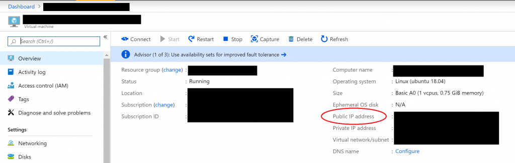 Setting up your own VPN server with OpenVPN in Azure