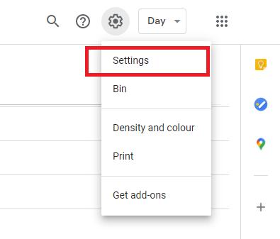 Screenshot to show steps for importing Outlook calendar into Google calendar